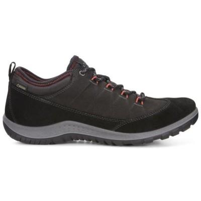 エコー ECCO レディース ハイキング・登山 シューズ・靴 Aspina Low Gore-Tex Hiking Shoes Black/Black