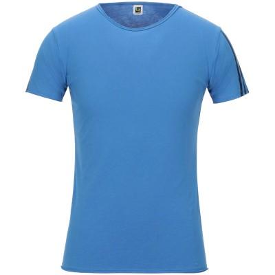 ビブロス BYBLOS T シャツ ブルー S コットン 100% T シャツ