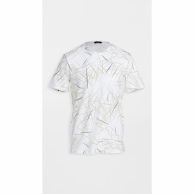 セオリー Theory メンズ Tシャツ トップス clean tee shirt White Multi