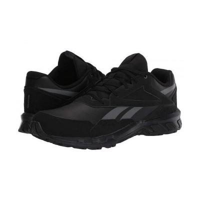 Reebok リーボック メンズ 男性用 シューズ 靴 スニーカー 運動靴 Ridgerider 5.0 - Black/Pure Grey/Radiant Red Leather