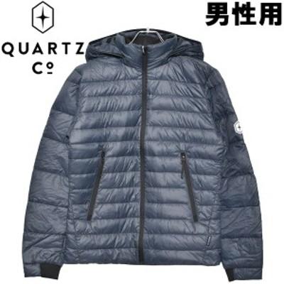 クオーツ コー LANS 男性用 QUARTZ Co. 37610 メンズ ライトダウンジャケット(01-21730021)