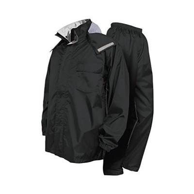 トオケミ 7705 ニューバリューレインスーツ (ブラック Large)