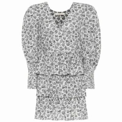 ラブシャックファンシー LoveShackFancy レディース ワンピース ワンピース・ドレス Paris floral cotton minidress Warm Grey