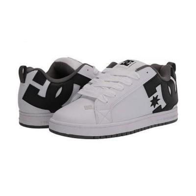 DC ディーシー メンズ 男性用 シューズ 靴 スニーカー 運動靴 Court Graffik - Black/Grey/White