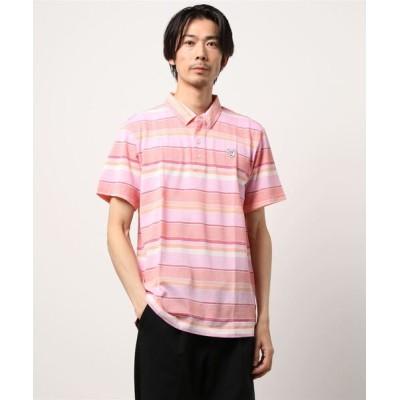 ZOY / 《ZOY》MENS マルチボーダー半袖ポロシャツ MEN トップス > ポロシャツ