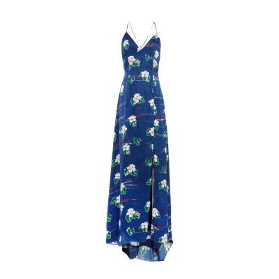 RACIL ロングワンピース&ドレス ブルー 34 レーヨン 100% ロングワンピース&ドレス