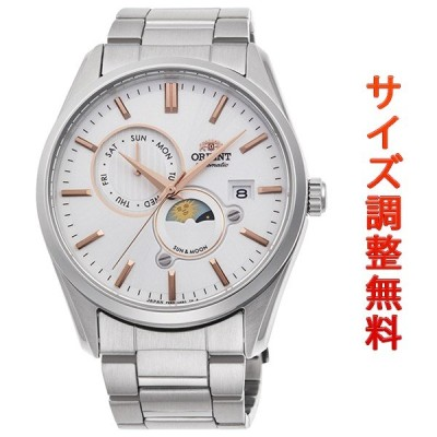 オリエント 腕時計 メンズ 自動巻き 機械式 ORIENT コンテンポラリー CONTEMPORARY サン&ムーン RN-AK0301S 正規品