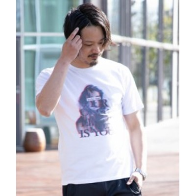 SKKONE ギミックプリント 3Dガールプリント 半袖Tシャツ