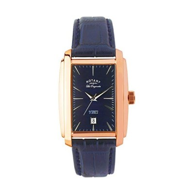 Rotary Men's Analogue Classic Quartz Watch with Leather Strap LE90014/05 並行輸入品