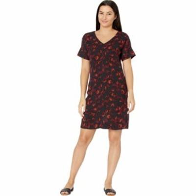 ボボウ Bobeau レディース ワンピース シフトドレス ワンピース・ドレス Short Sleeve Shift Dress Rust/Garnet