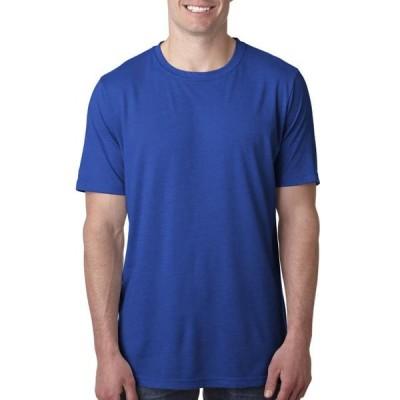 メンズ 衣類 トップス The Next Level Mens Poly/Cotton Crew - ROYAL - S Tシャツ