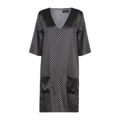 JADICTED ミニワンピース&ドレス ブラック S シルク 95% / ポリウレタン 5% ミニワンピース&ドレス