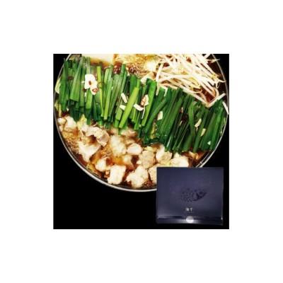 博多もつ鍋 醤油味(3人前)_PA0655