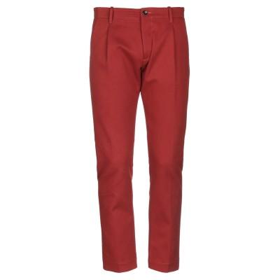 NINE:INTHE:MORNING パンツ 赤茶色 50 コットン 99% / ポリウレタン 1% パンツ