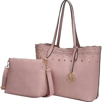 MKFコレクション メンズ トートバッグ バッグ Maria Shopper Tote with Cosmetic Pouch