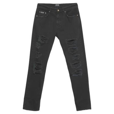 VERSACE JEANS COUTURE パンツ ブラック 31 コットン 100% パンツ