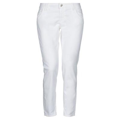 ロイ ロジャース ROŸ ROGER'S パンツ ホワイト 26 コットン 60% / ポリウレタン® 37% / ポリウレタン 3% パンツ
