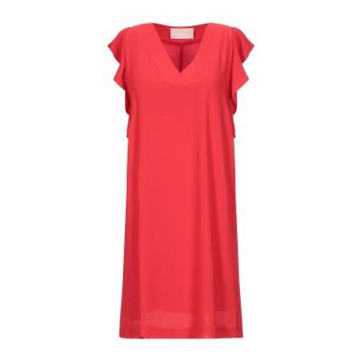 KAOS JEANS ミニワンピース&ドレス レッド 38 ポリエステル 100% ミニワンピース&ドレス
