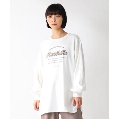 (Honeys/ハニーズ)ロゴTシャツ/レディース オフホワイト
