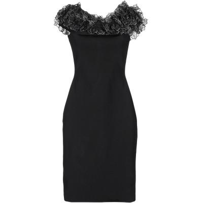 クリストファー・ケイン CHRISTOPHER KANE ミニワンピース&ドレス ブラック XS レーヨン 82% / ナイロン 16% / ポリウ