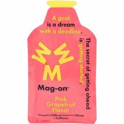 マグオン(Mag-on) マグネシウムチャージサプリメント エナジージェル ピンクグレープフルーツ味 12個セット TW210232 【水溶性マグネシ