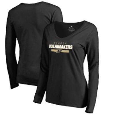 Fanatics Branded ファナティクス ブランド スポーツ用品  Fanatics Branded Purdue Boilermakers Womens Black Team S