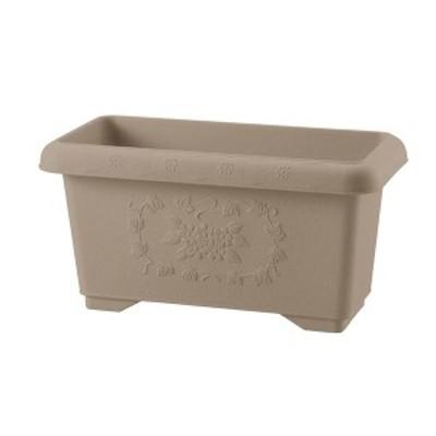 深型 植木鉢/プランター 〔45型 ブラウン〕 約幅45.5cm 日本製 リッチェル ハナール 〔ガーデニング用品 園芸用品〕