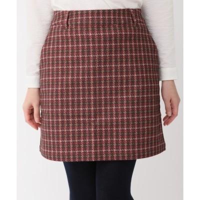 スカート 《ZOY》チェックプリントスカート