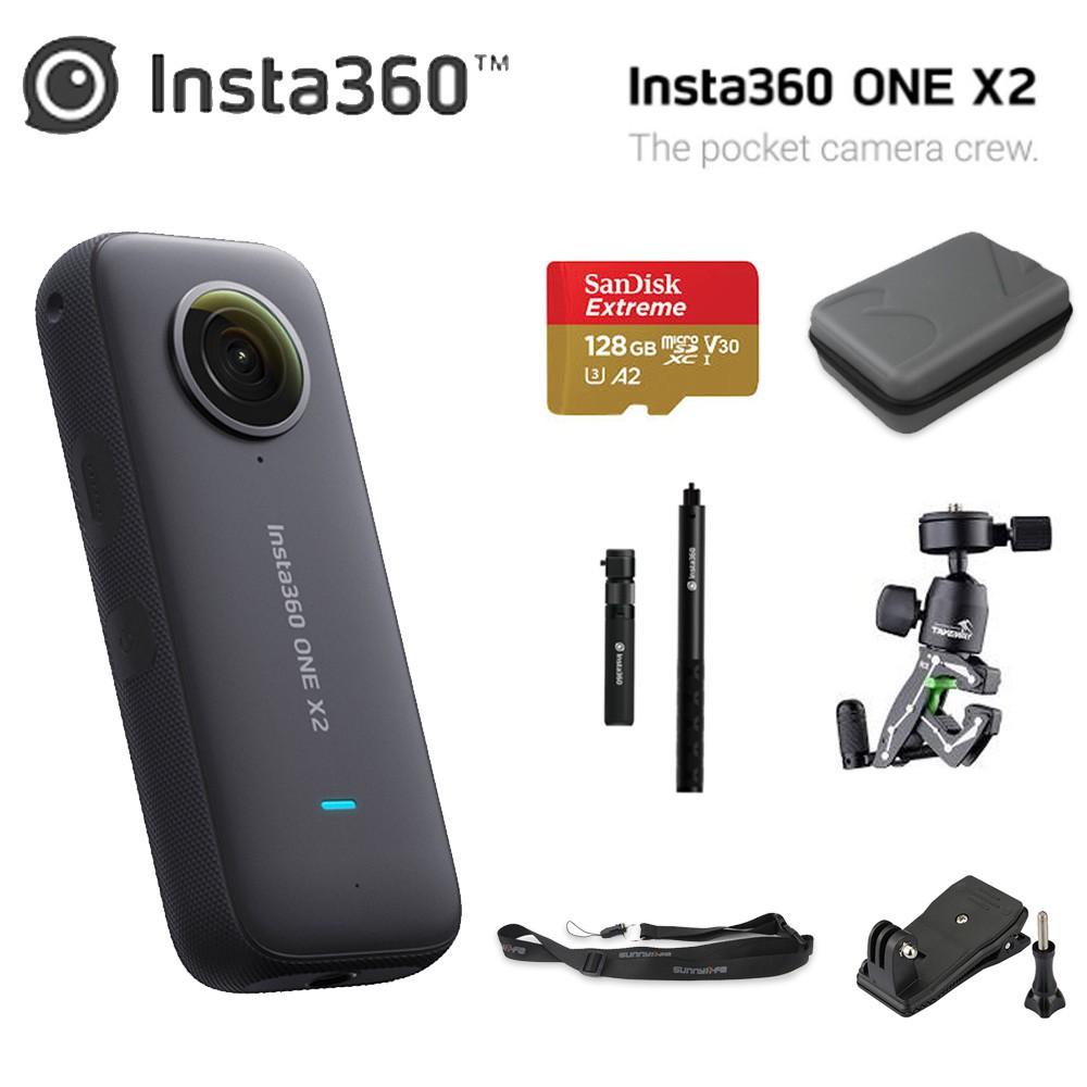 Insta360 One X2 全景相機 運動相機 5.7K 全景影片 隨身相機 分期0利率