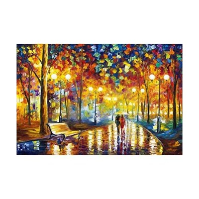 BOXSBAI Jigsaw Puzzle 300/500/1000/1500/2000/3000/5000/5700 Pieces For Adult And Kids, World Famous Painting Van Gogh Starry Sunflower Fishi