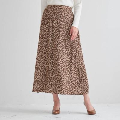 ナローフレアプリントスカート