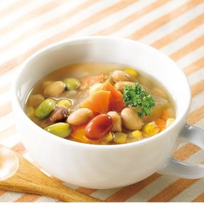 お豆と野菜のごろっとおかずスープ(10袋) 常温品
