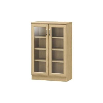 白井産業 ■ホノボーラ 食器棚 ナチュラルブラウン HNB-9055G