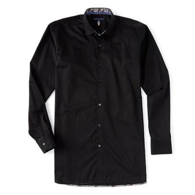 ビスコッティ メンズ シャツ トップス Big & Tall Solid Long-Sleeve Woven Shirt