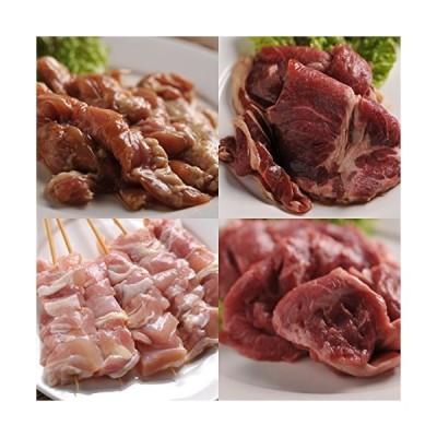 肉のあおやま お肉の力で美しさに磨きを 女子会セット(特製ラム肉ジンギスカン・味付き鶏セセリ・生ラムジンギスカン・味付きとり串)