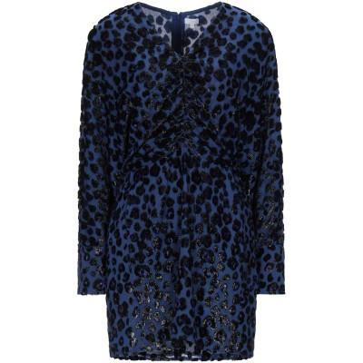 LALA BERLIN ミニワンピース&ドレス ブルー XS シルク 55% / Lurex® 35% / レーヨン 10% ミニワンピース&ドレス