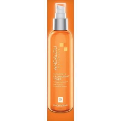 オーガニック ボタニカル 化粧水 トナー ナチュラル フルーツ幹細胞 「 C+C トナー 」 ANDALOU naturals アンダルー
