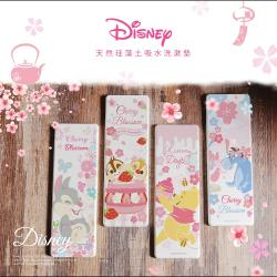 [Disney迪士尼]2021櫻花系列珪藻土洗漱墊 正版授權 台灣SGS認證不含石綿