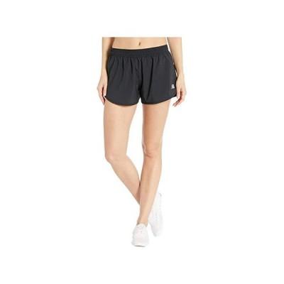 """ニューバランス Accelerate Shorts 2.5"""""""" レディース ショートパンツ ズボン 半ズボン Black"""