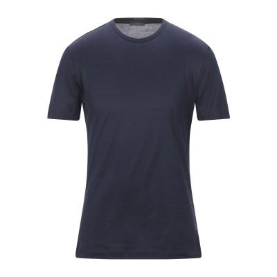 パル ジレリ PAL ZILERI T シャツ ダークブルー M コットン 100% T シャツ