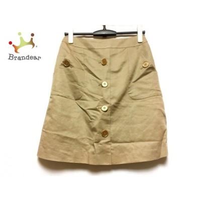 ジャスグリッティー JUSGLITTY スカート サイズ2 M レディース ベージュ     スペシャル特価 20200824