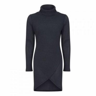 メーラ Mela レディース ワンピース ワンピース・ドレス High Neck Knitted Dress Grey