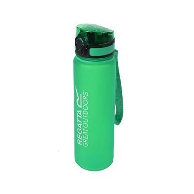 Regatta Unisexs 0.6 Litre Lightweight Tritan Flip Camping Bottle, Green, On