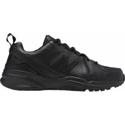 ニューバランス メンズ スニーカー シューズ Men's New Balance 608v5 Trainer Black/Black