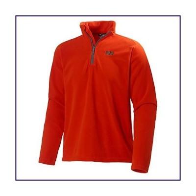 Helly Hansen Men's Daybreaker 1/2 Zip Lightweight Fleece Pullover Jacket, 226 Bright Orange, Small【並行輸入品】