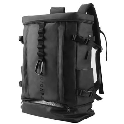 Sendida メンズ リュックサック 大容量 防水 リュック - A4 PC バックパック ナイロン 靴 野球 バット 収納 リュック 人気 リュックサック スクエアバック スポ