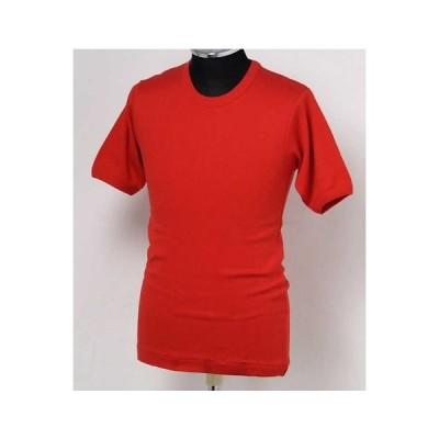 イギリス軍用、レッドTシャツ(新品)T47N