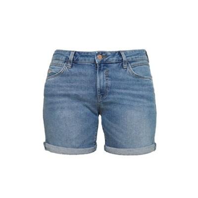 マビ デニムパンツ レディース ボトムス PIXIE - Denim shorts - mid brush milan