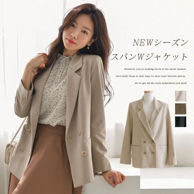 [韓国ファッション]NEWシーズンスパンWジャケット
