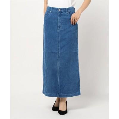 スカート インディゴコールスカート